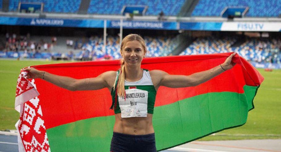 Кристина Тимановска Беларус убежище