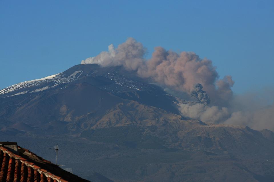 Етна вулкан Сицилия