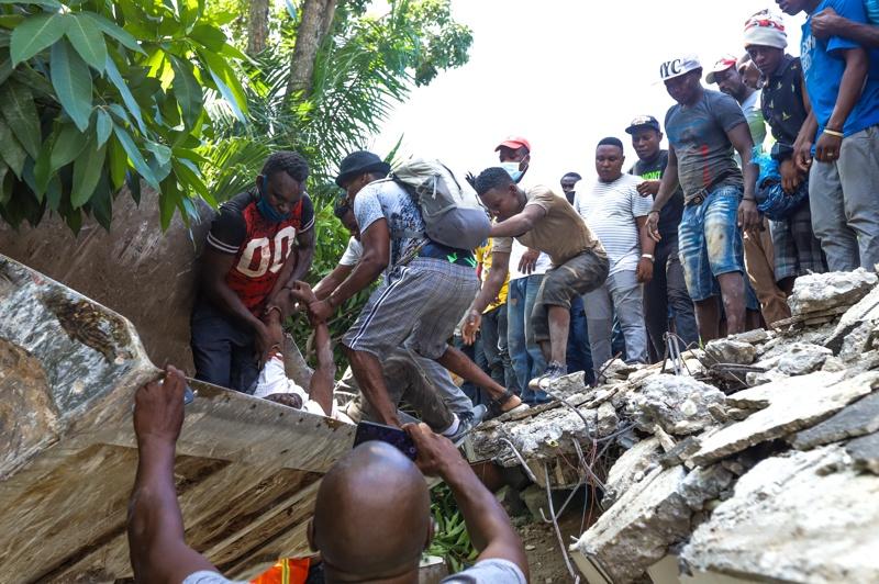 земетресение Хаити
