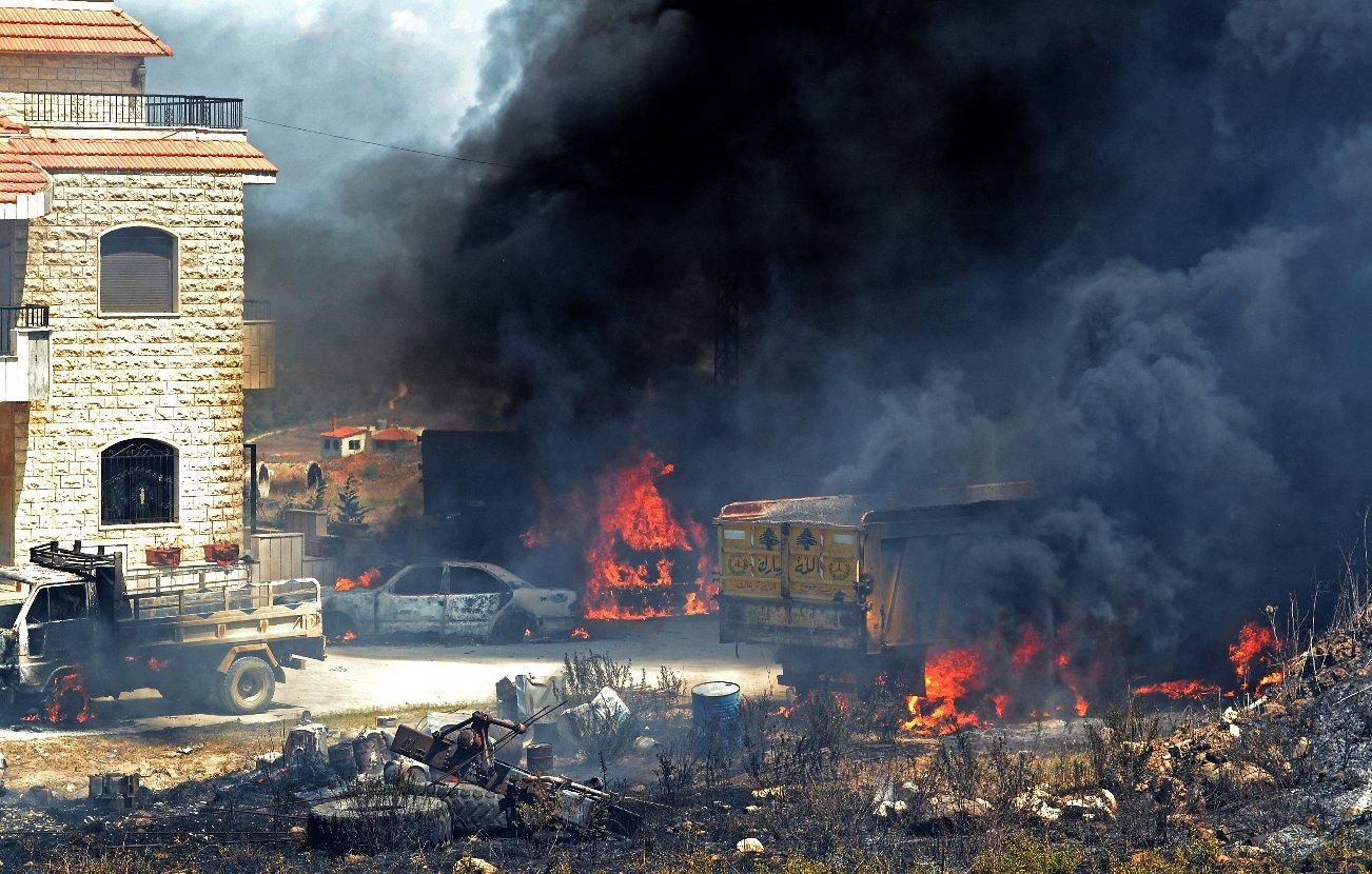 Ливан експлозия