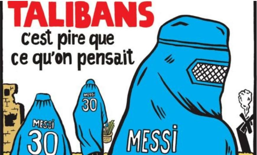 Меси талибани карикатура