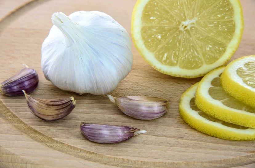 чесън лимони