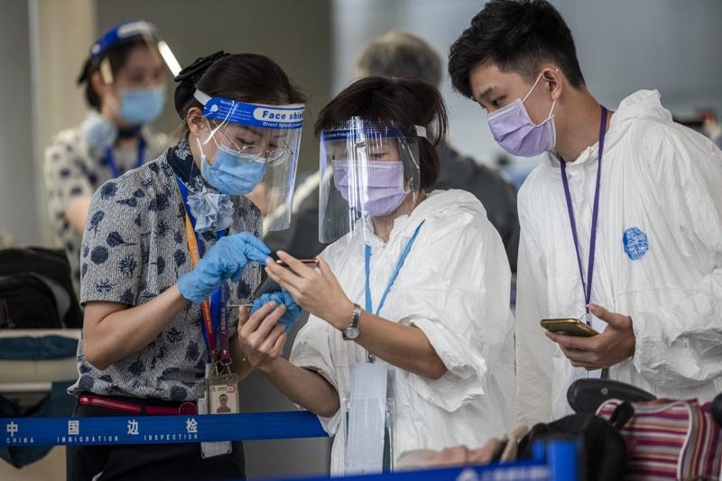 Китай коронавирус мерки летище