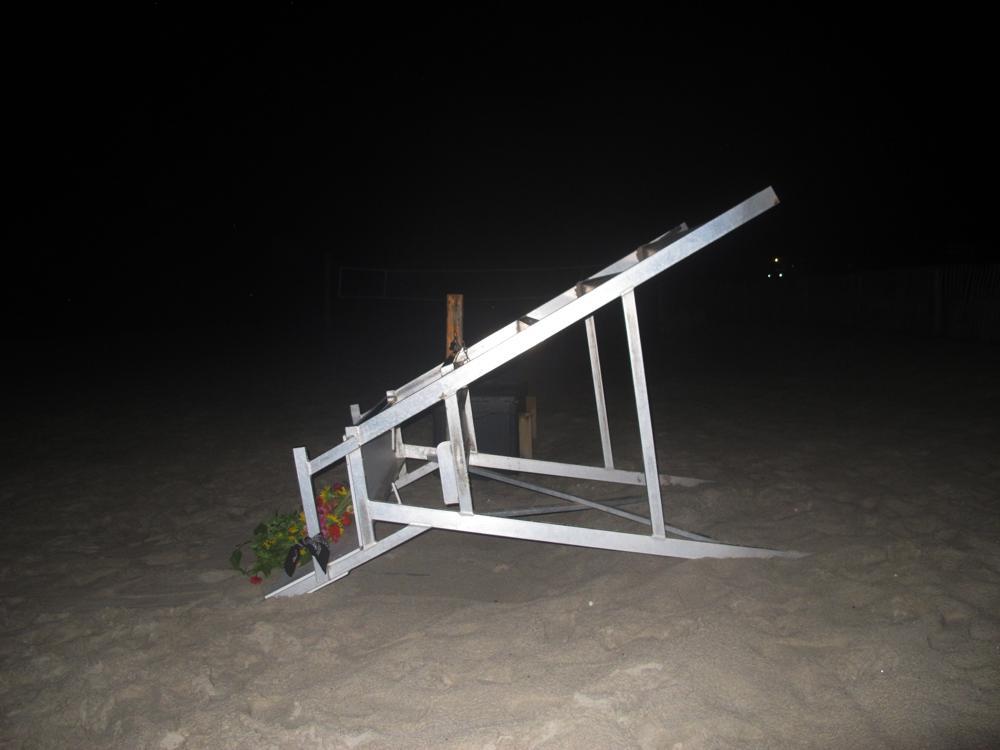 вишка спасител плаж