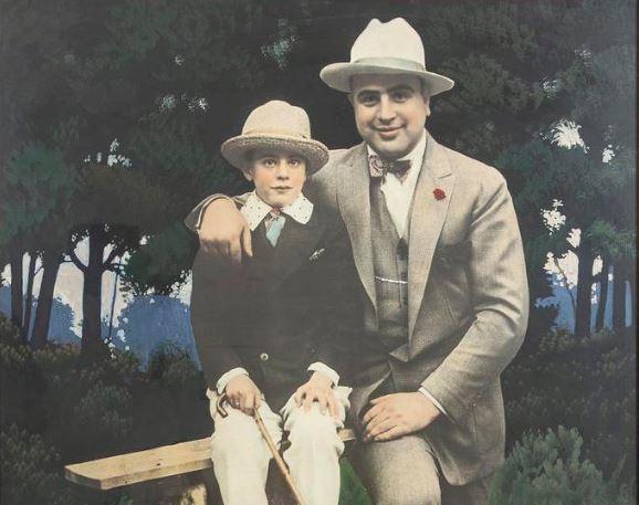 Ал Капоне Сони Капоне син картина