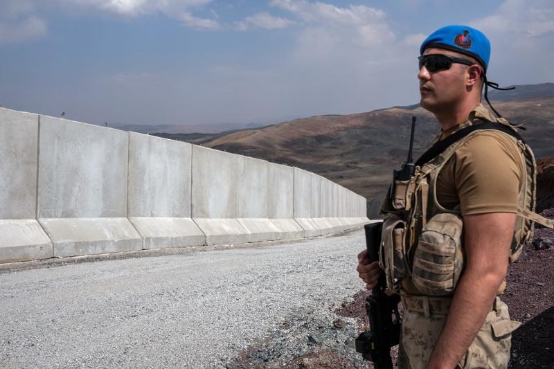 граница Турция Иран стена