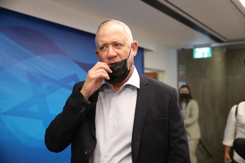 Бени Ганц Израел военен министър