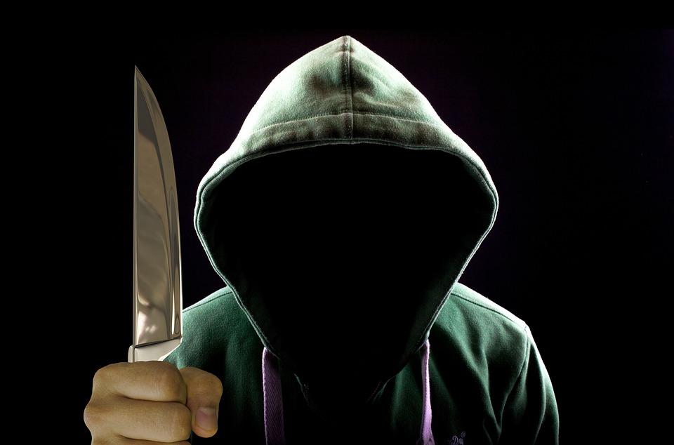 нож нападение нападател