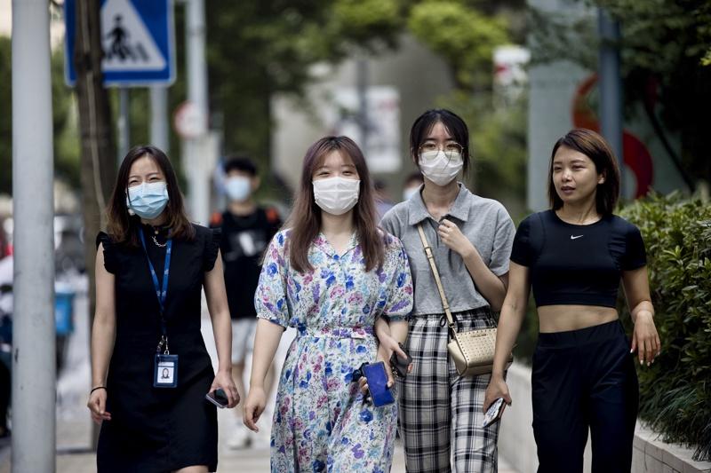 Китай коронавирус Шанхай