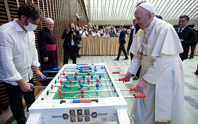 папа Франциск джага