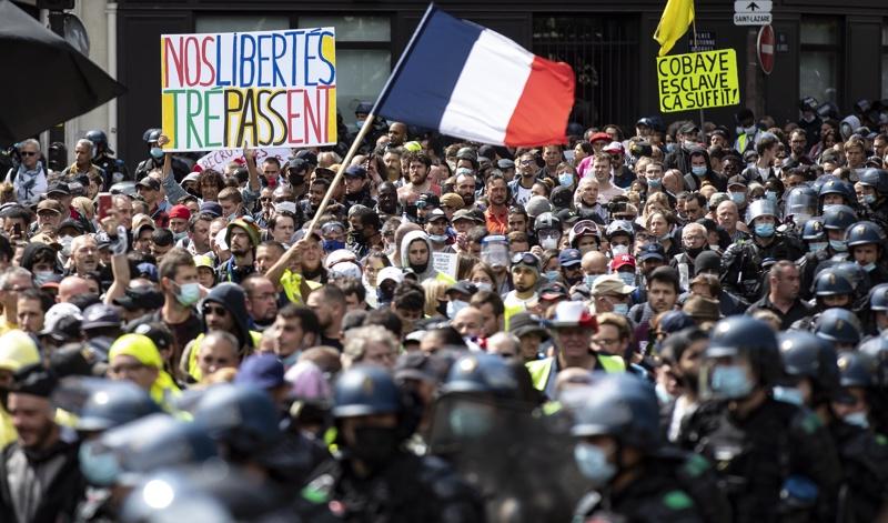 Франция, протести