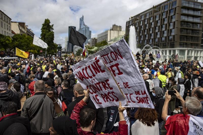 Франция, протест