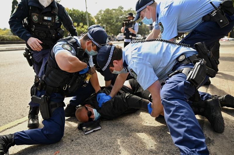 протести в Австралия