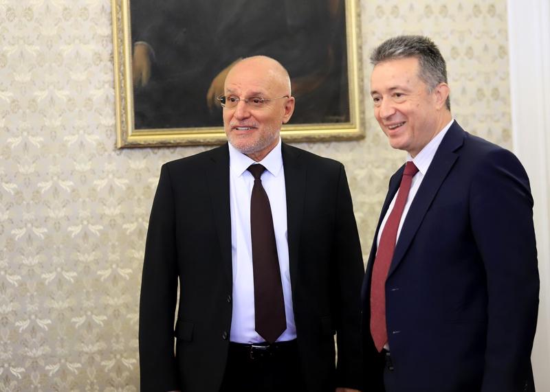Димитър Радев и Янаки Стоилов