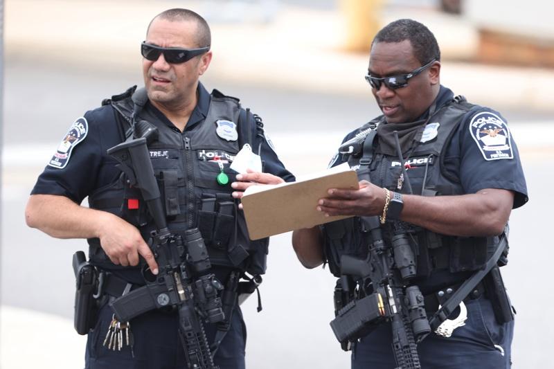 полиция спецчасти Пентагон стрелба