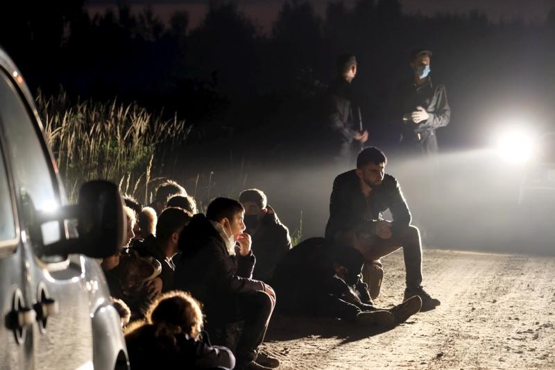 мигранти Беларус Литва граница