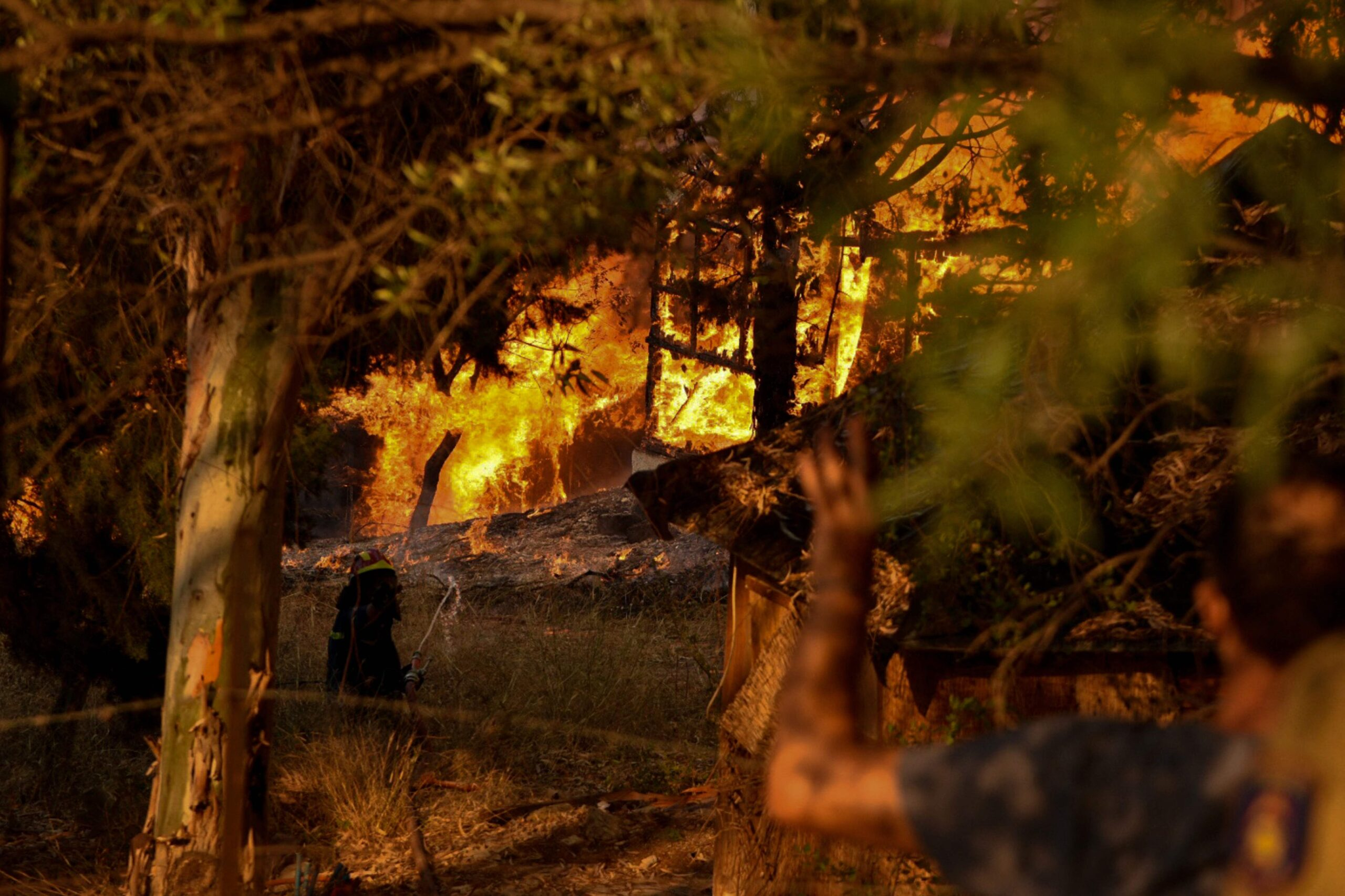 Гърция пожари