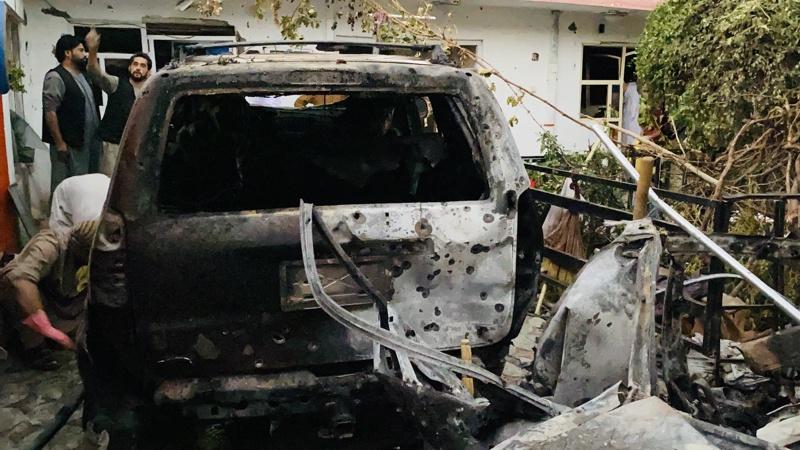 дрон удар поражение Кабул