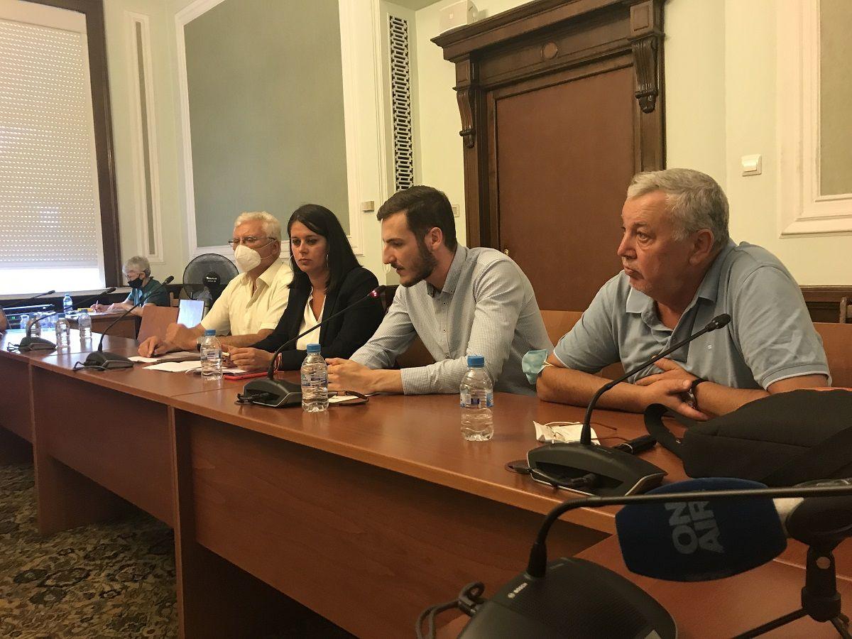 Даниел Павлов, битият протестираш пред НС