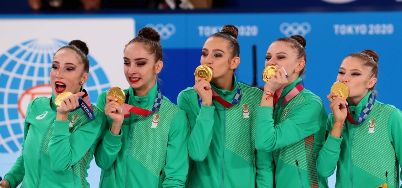 Ансамбълът спечели олимпийската титла в Токио 2020. Снимки: Костадин Андонов