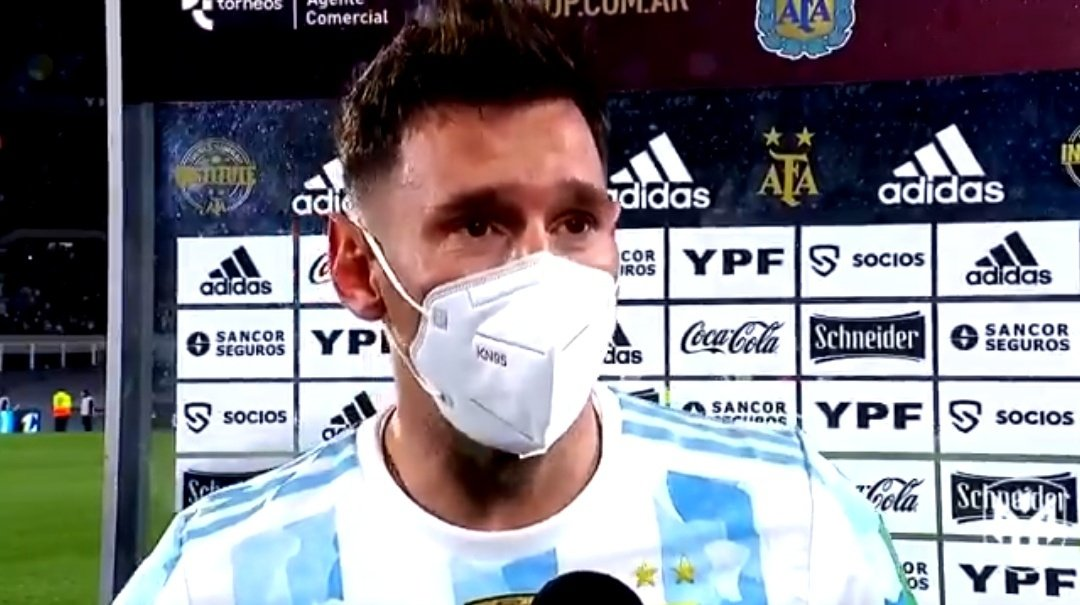 Меси Аржентина рекорд Туитър