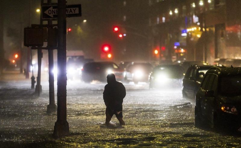 наводнение Ню Йорк