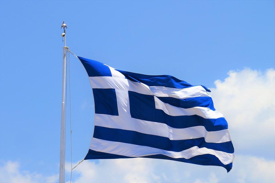 Гърция знаме флаг