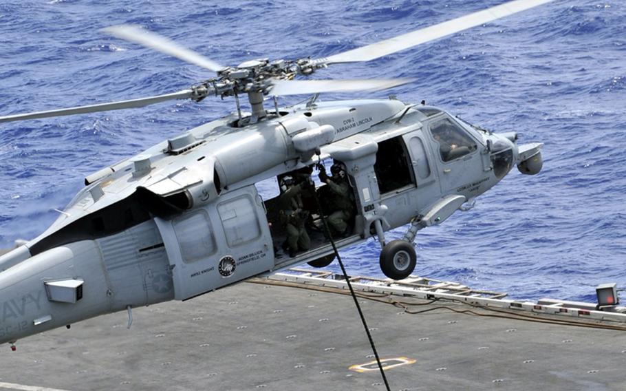 хеликоптер САЩ Сий хоук sea Hawk
