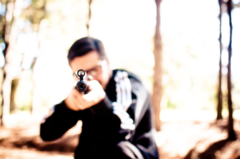 пушка стрелец мушка