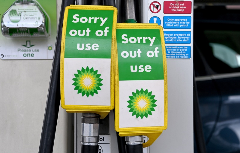 бензиностанция Брекзит Великобритания