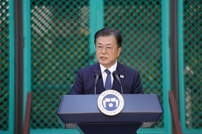 Мун Дже-Ун Мун Дже Ун Южна Корея президент