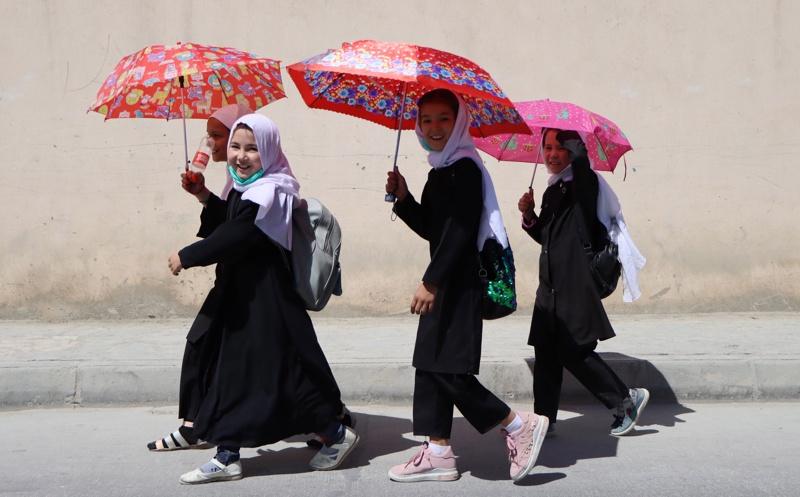 Афганистан жени момичета Кабул