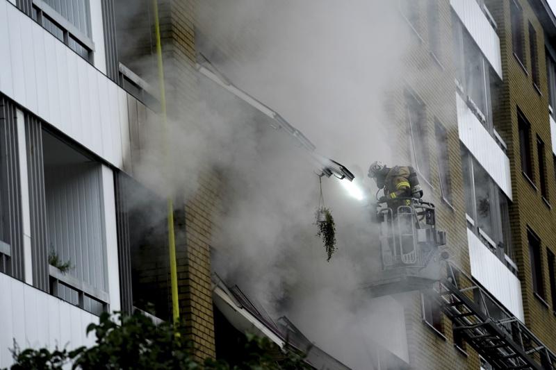 Швеция експлозия Гьотеборг