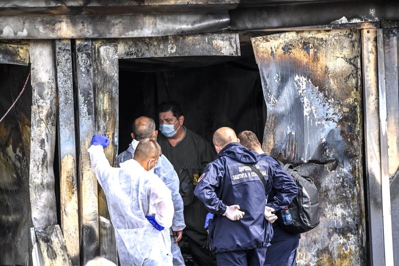 Тетово болница разследване пожар