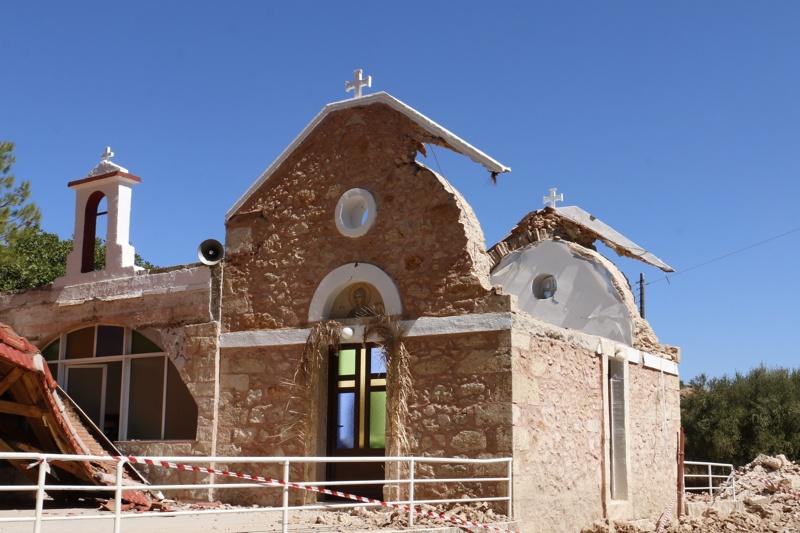 земетресение Крит 27 септември