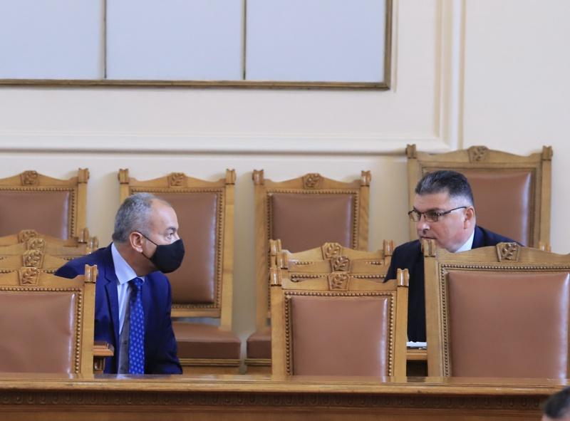 Георги Панайотов и Гълъб Донев
