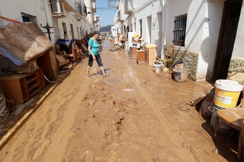 наводнения в Испания