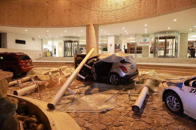 Мексико, земетресение