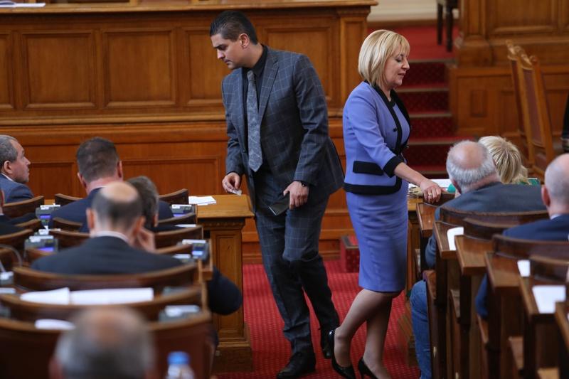 Мая Манолова и Радостин Василев