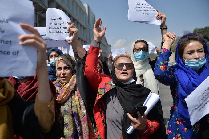 демонстрация на жени