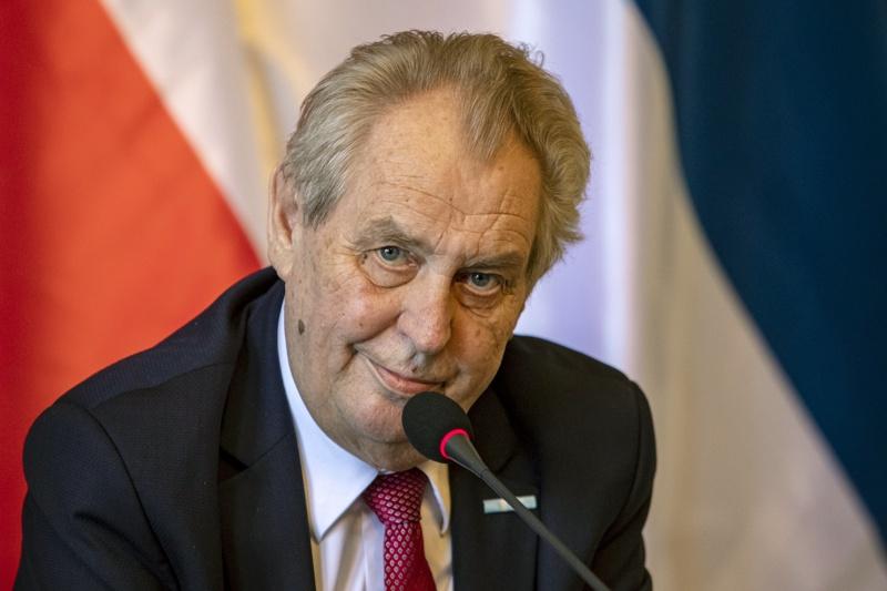 Милош Земан Чехия президент