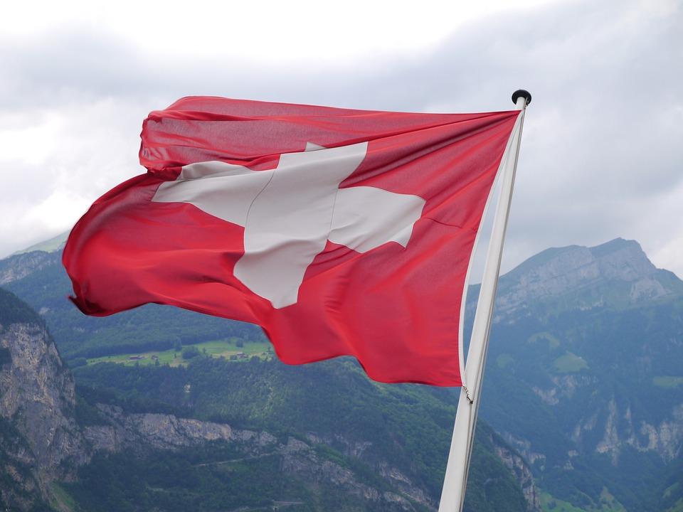 Швейцария знаме флаг
