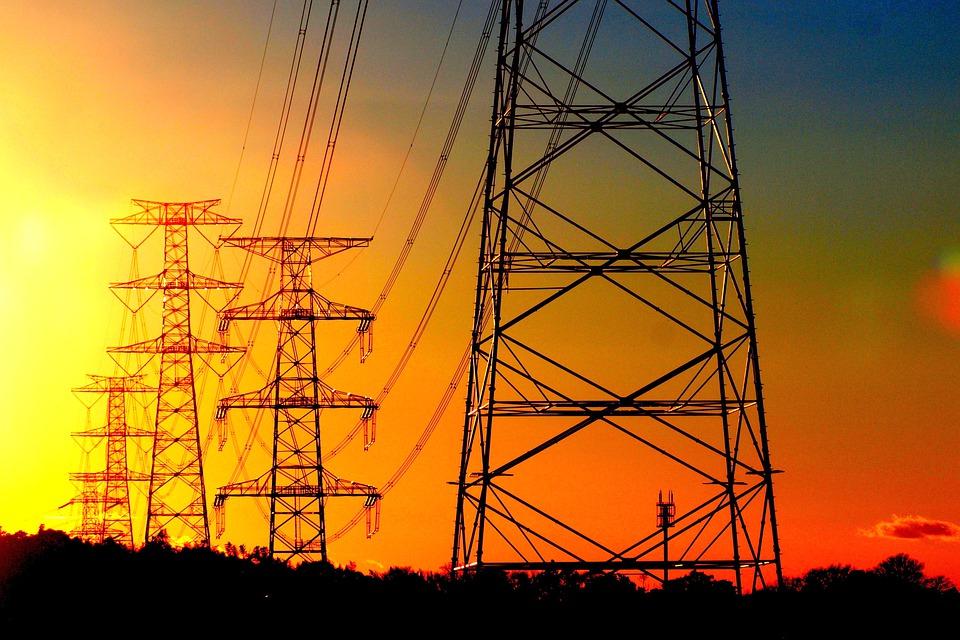 електричество ток електропровод
