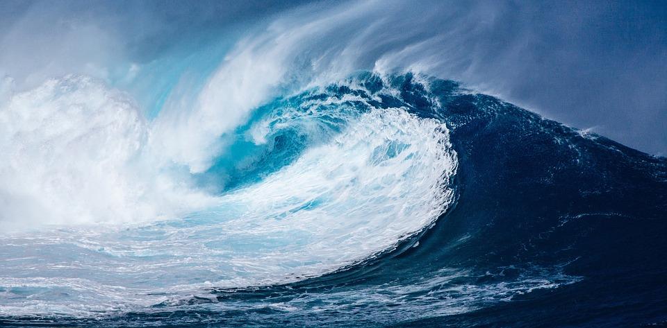 вълна вълни вълнение