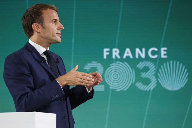 Макрон Франция 2030