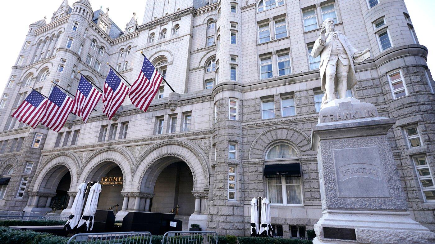 Тръмп хотел Вашингтон