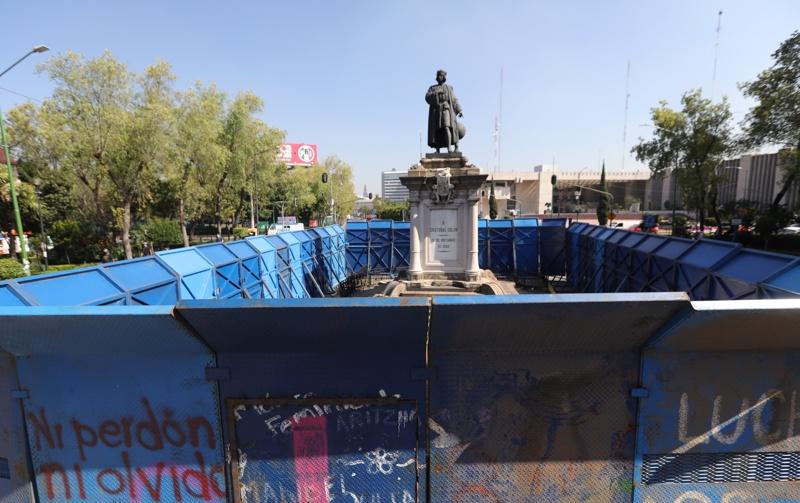 Колумб статуя Мексико