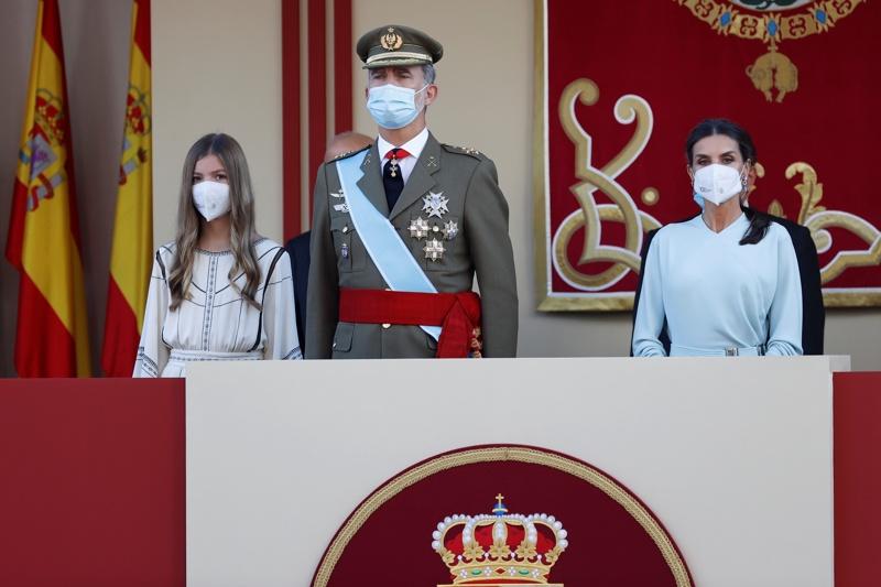 кралица Летисия Испания парад