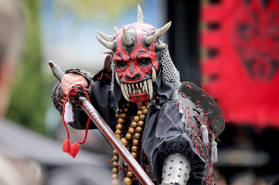 самурай катана меч