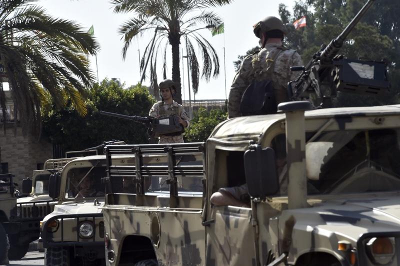 Бейрут Ливан армия стрелба